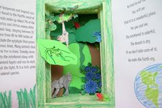 Earth Day With STEAM: Creating Tunnel Books