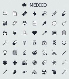 health medical pharma care icons