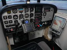 Cessna Flight Simulator Cockpit