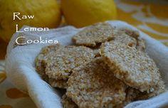 Raw Lemon Cookies