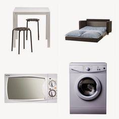 k o t i p o r s t u a: Opiskelija-asunnon sisustaminen minibudjetilla Koti, Home Appliances, House Appliances, Domestic Appliances
