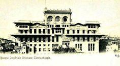 Osmanlı bankası, Galata - Banque impériale Ottomane, Constantinople.