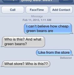 The 23 Best Ways To Handle A Text From The Wrong Number. the last one honestly made me laugh till I cried toooo funny Funny Wrong Number Texts, Funny Texts, Prank Texts, Random Texts, Text Pranks, Epic Texts, It's Funny, Stupid Funny, Funny Humor