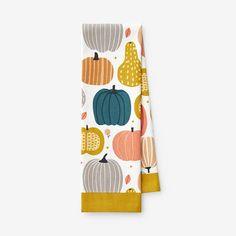 Seasonal Print Fall Tea Towel Outdoor Tablecloth, Autumn Tea, Down Comforter, Cotton Quilts, Towel Set, Duvet Cover Sets, Tea Towels, Pantry, Whimsical