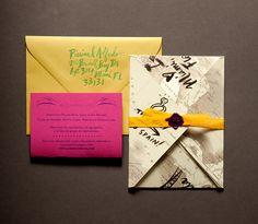 Wedding Invitation :: Ladyfinger Letterpress