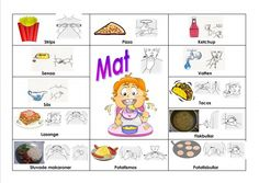 Mariaslekrum - Pratkartor. Sign Language Book, Learn Swedish, Swedish Language, Autism, Preschool, Teacher, Education, Comics, Learning