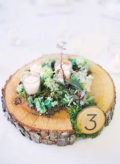 Fazlasıyla doğaya aşık bir çifti anlatacak en güzel masa süslemesi de işte burada!