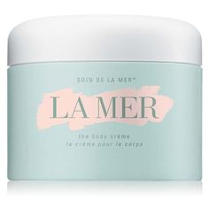La Mer The Body Creme 10 Oz ($275) ❤ liked on Polyvore featuring beauty products, bath & body products, body moisturizers, beauty, bath & body, lotions, natural, body moisturizer and body moisturiser