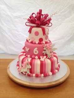 Pink Unicorn Birthday Cake - Hamish has given this the stamp of approval!