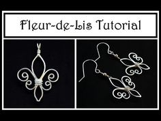 2 Lovely Wire Wrapped Pendant and Earrings Tutorials  ~ The Beading Gem's Journal #Wire #Jewelry #Tutorials