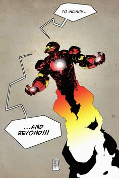 Iron Man by Patrick Boutin-Gagné ... Buzz Lightyear °°