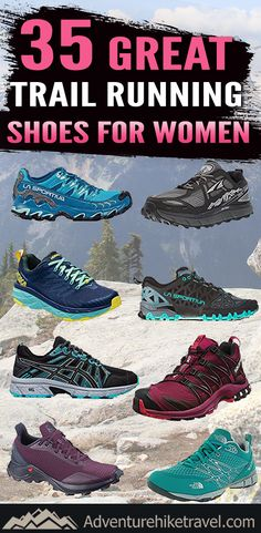 If you are bored of running on the treadmill and want to venture into trail running in the great outdoors you are going to need to upgrade your footwear. Many shoes that are great for concrete or a treadmill are not designed to handle some of the more rugged terrain you may encounter while running out in nature. So right here we have gathered 35 Great Trail Running Shoes for Women.
