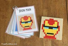 Lego For Kids, Diy For Kids, Crafts For Kids, Stem Activities, Activities For Kids, Space Activities, Lego Mosaic, Lego Club, Lego Design
