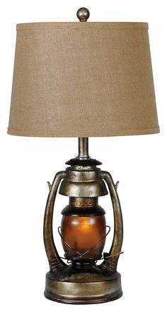 Oil Lantern Table Lamp | Bass Pro Shops