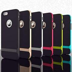 shell abejorro caso del marco de silicona ultra-delgada para el iphone 6 (color clasificado) – EUR € 4.99
