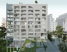 2013 [NP2F Architects] Amenagement de l'ilot 2B Dans La Zac Cite de la Mediterranee
