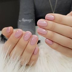 52 Cute and Lovely Pink Nail Designs to Love Romantic and Girly . - 52 Cute and Lovely Pink Nail Designs to Look Romantic and Girly - Matte Pink Nails, Pink Glitter Nails, Nude Nails, My Nails, Neutral Gel Nails, Short Pink Nails, Shellac Nail Colors, Short Nail Manicure, No Chip Nails
