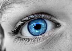 Blue topaz eye