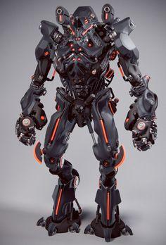 ZBrush France : La sculpture digitale sur ZBrush et Sculptris. Zbrush, Gundam, Arte Robot, Humanoid Robot, Futuristic Armour, Mekka, 3d Modelle, Sci Fi Armor, Robot Concept Art