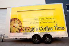 It's Coffee Time Coffee Trailer