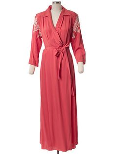 Stunning 1940s rayon  House dress robe  Size medium to large  Old Hollywood Glam