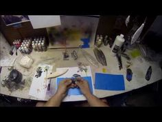 How to make a lure stencil - YouTube
