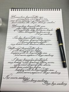 271 Times People Found Some Truly Perfect Handwriting Examples That Were Too Good Not To Share Perfect Handwriting, Improve Your Handwriting, Beautiful Handwriting, Copperplate Calligraphy, How To Write Calligraphy, Calligraphy Handwriting, Caligraphy, Calligraphy Letters, Handwriting Examples