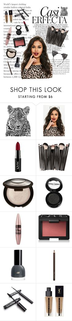 """Untitled #1084"" by alwateenalr on Polyvore featuring beauty, Whiteley, Missguided, NYX, Manic Panic NYC, Maybelline, NARS Cosmetics, Yves Saint Laurent and True Craft"