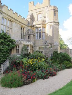 Sudeley Castle. Such a cool castle. The ruins were so interesting and I loved the knot garden