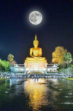 Art Buddha, Buddha Artwork, Buddha Canvas, Gautama Buddha, Buddha Buddhism, Zen Meditation, Buddhist Temple, Buddhist Art, Buddha Background