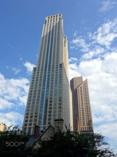 Chicago (USA) - Chicago in USA. Chicago Usa, Skyscraper, Multi Story Building, Skyscrapers