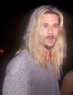 "stellarexplosion: "" "" nadi-kon: "" ""Brad, 1994 "" "" Jesus Christ "" God bless the "" Brad And Jen, Brad And Angelina, Junger Brad Pitt, Brad Pitt Images, Strong Jawline, Jesus Christ Superstar, Keanu Reeves, Sexy Men, Sexy Guys"
