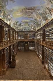 """""""The world's largest ever indoor photo - and it's a library"""" by Paul St. John Mackintosh via TeleRead: News and views on e-books, libraries, publishing and related topics Places Around The World, Around The Worlds, Library Bookshelves, Visit Prague, Prague Czech Republic, Beautiful Book Covers, Photo Library, Beautiful World, Places"""