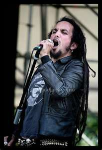 Mark Osegueda from Death Angel. Still looking good and a sweetie to boot.
