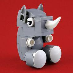 Cuddly Toys: Rhino by Swan Dutchman http://flic.kr/p/RpGEUX