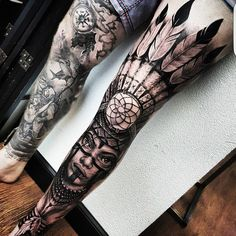 Perfect legs tattoos