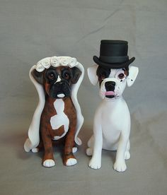 boxing wedding cake toppers wedding cake topper boxer dogs wedding cake by 12112