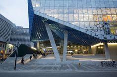 Centro de aprendizaje de estudiantes Universidad de Ryerson (Toronto, Canadá) Zeidler Partnership Architects,Snøhetta