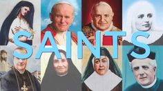 Excellent video about the process the Church goes through to declare an individual a saint.