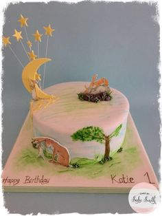 Guess How Much I Love You Cake - http://www.cakebysadiesmith.co.uk/celebration-cakes/guess-how-much-i-love-you-cake/