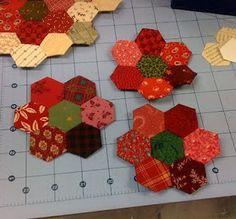 Quiltville's Quips & Snips!!: Hexagon Tutorial