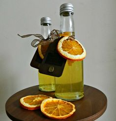 Orange spiced vodka
