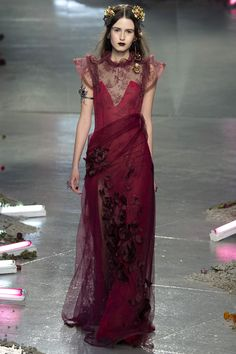 Rodarte Fall 2016 Ready-to-Wear Fashion Show  http://www.theclosetfeminist.ca/  http://www.vogue.com/fashion-shows/fall-2016-ready-to-wear/rodarte/slideshow/collection#39