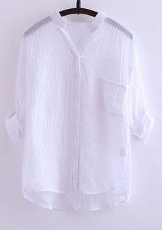 6951a62a4 Camisa de Linho - Loja Raylim Modas Camisas De Linho