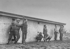 Three German saboteurs caught during the Ardennes Offensive are prepared for execution by US MPs. All three belonged to a special infiltration group led by famed SS commando Otto Skorzeny.They spoke fulent American English and wore US uniforms with the aim of causing maximum mayhem in the US rear. Many in this group were born American. From left to right Wilhelm Schmid, Günther Billing and Manfred Pernass. Velkenradt, Belgium,23 Dec 1944.