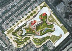 Martha Schwartz Partners (MSP) ? very, very Roberto Burle Marx. Almost picked straight from an RBM book. ! PWGD