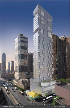 577 9th Avenue | 93m | 303 ft | 25 fl | Handel Architects