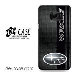 Subaru Wrx Sti Logo Field Of Simulated Black Carbon Fiber DEAL-10230 Samsung Phonecase Cover For Samsung Galaxy Note 7