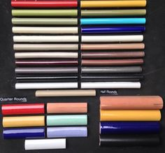 Ceramic Half Round Minis Quarter Rounds And All In Stock At World Mosaic