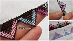 Zig Zag Crochet, Knit Crochet, Needle Tatting, Olay, Hand Embroidery, Diy And Crafts, Knitting, Model, Jewelry